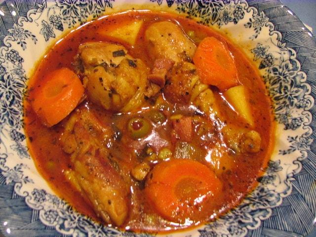 pollo guisado recetas salvadore as