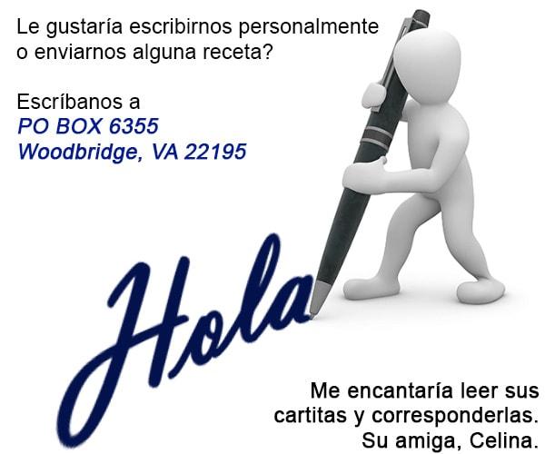contactenos Recetas Salvadoreñas