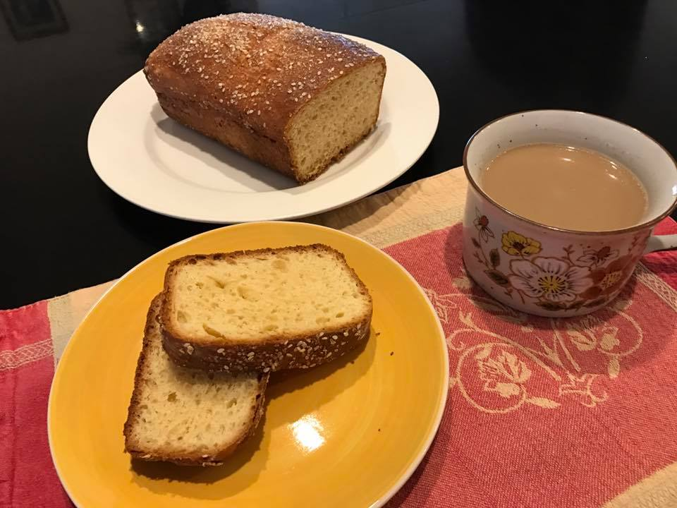 torta de yema