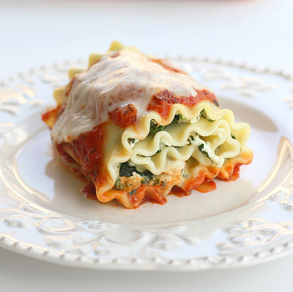 Lasagna con Loroco
