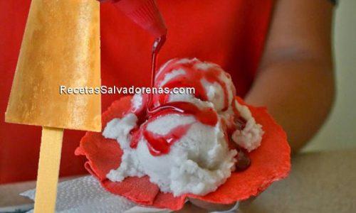 sorbete y paleta de tamarindo