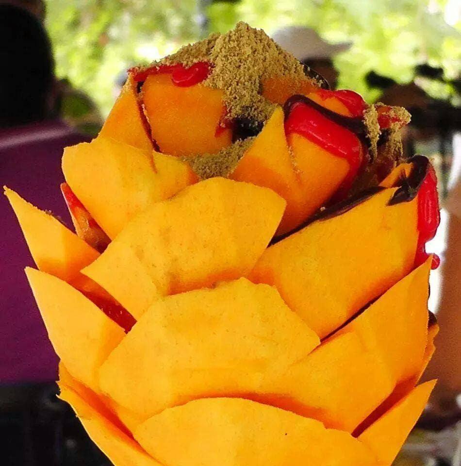 A comer mangos se ha dicho!