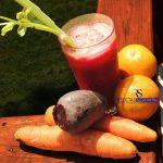 Jugo de Naranja, Zanahoria y Remolacha