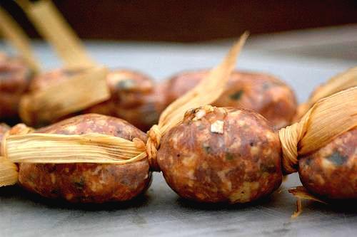 Chorizos Salvadoreños