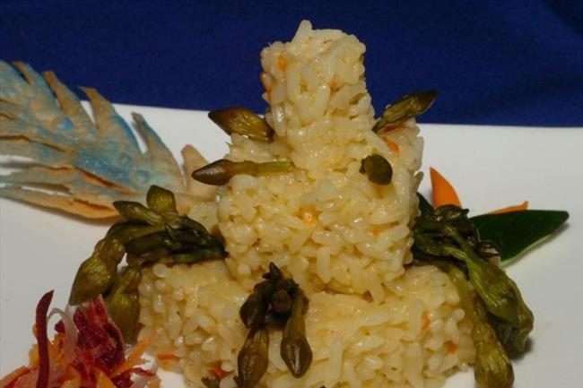 arroz con loroco