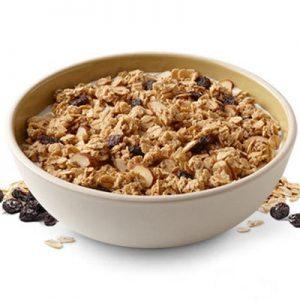 granola con leche